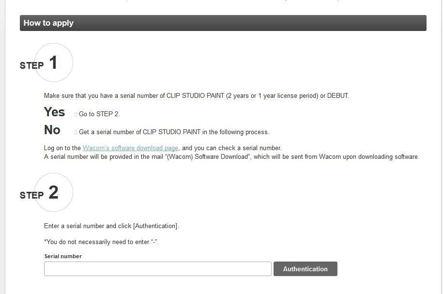 License problem - CLIP STUDIO ASK