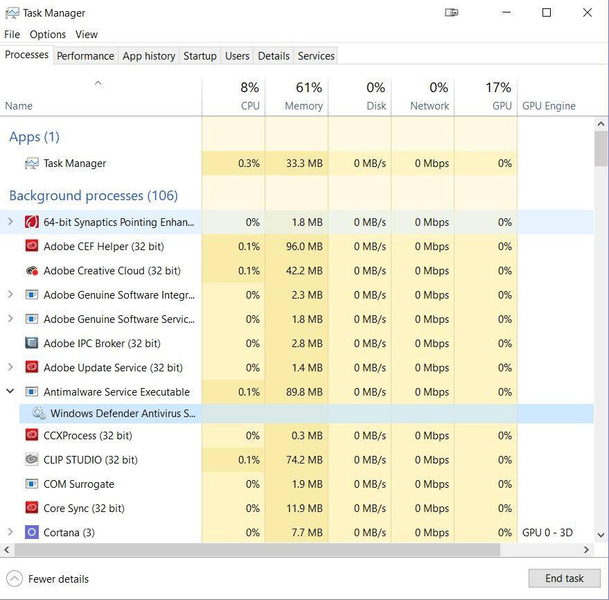 CSP Windows 10 - Lags everything  - CLIP STUDIO ASK