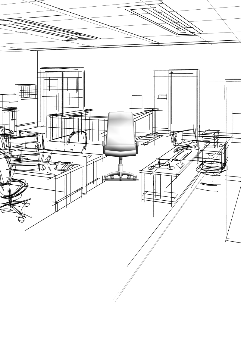 Inserting 3d Object Into Scene Existing 2 Point Perspective Clip Studio Ask