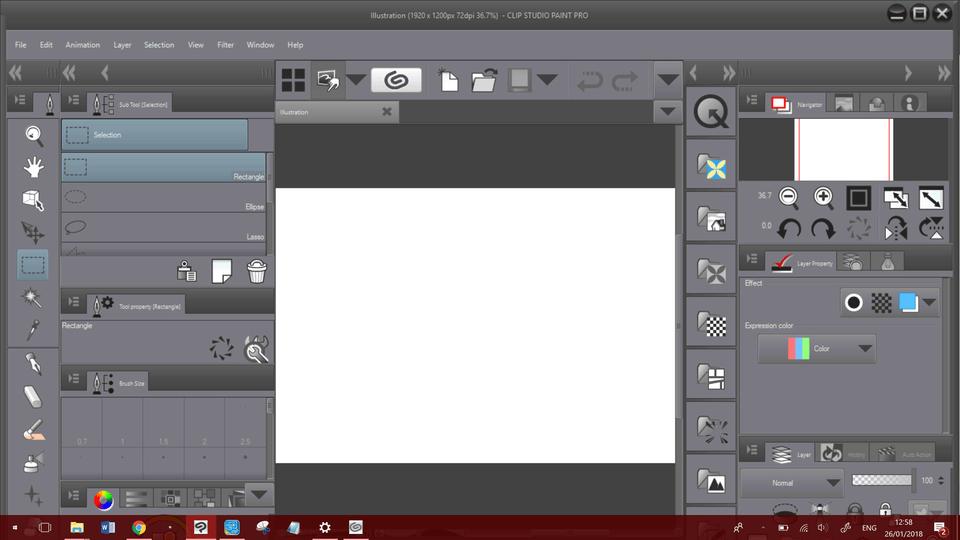 clip studio paint windows 10