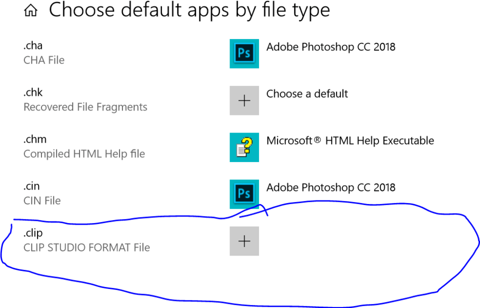 clip files not opening in Windows 10 after update - CLIP