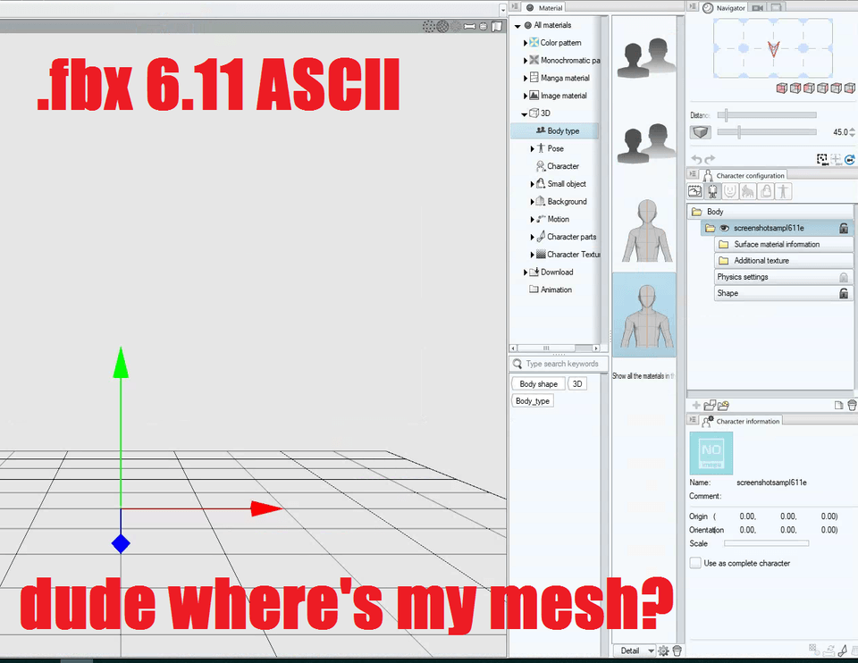 Trouble with Blender Import and Bone Assignment in Modeler