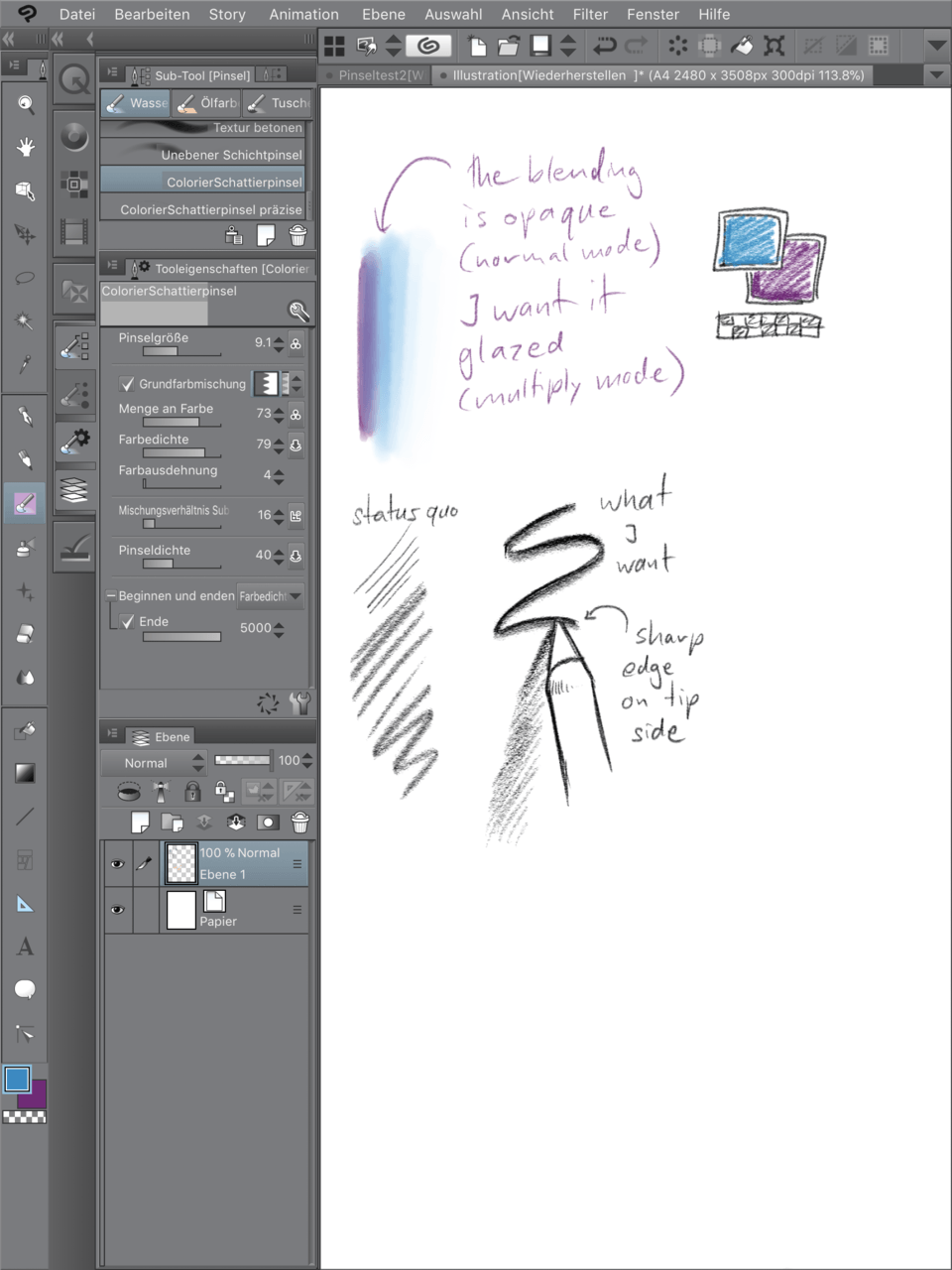 clip studio paint brushes