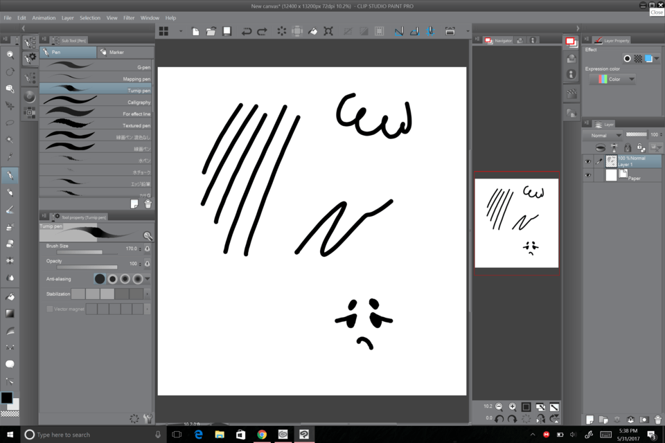 Pen sensitivity isn't working only on Clipstudio? - CLIP